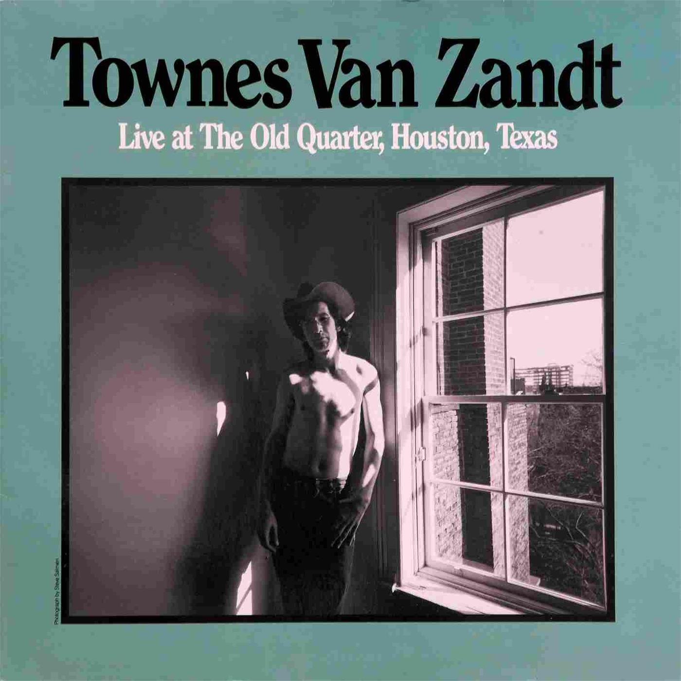 VXLDV1181 Fat Possum  Townes Van Zandt Live at the Old Quarter (2LP)